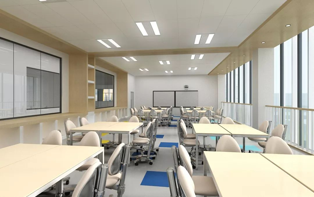 北京市房山区诺德安达学校教室