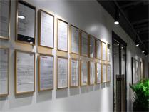 中国煤矿文工团艺术学校国际部的教学走廊