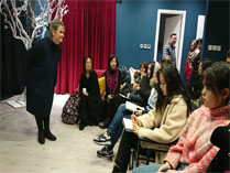 BACA国际艺术学校的课堂