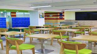 翻身实验学校国际部的教室