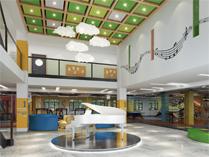 学校西楼大厅