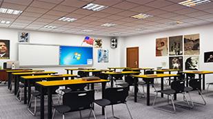 博格思加州学校教室