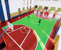 成都巴德美际学校的体育馆