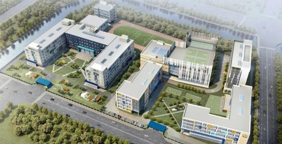 上海诺德安达双语学校鸟瞰图