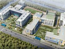 上海市闵行区诺德安达双语学校俯视图