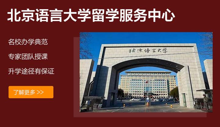 北语留服国际课程中心