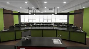 中黄书院生物教室