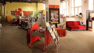 青苗国际双语学校阅读室