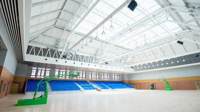 青岛赫德双语学校体育馆