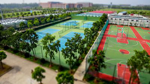 上海建桥加美OA国际高中运动场