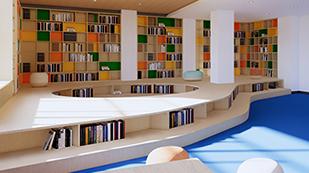 上海诺思兰顿学校阅览室