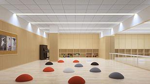 爱朗国际幼儿园游戏室